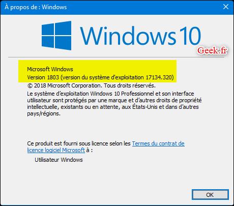windows-10-1803-KB4458469-version